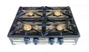 Cocina Industrial A Gas 4 Quemadores F-4GE-LB LA BARI