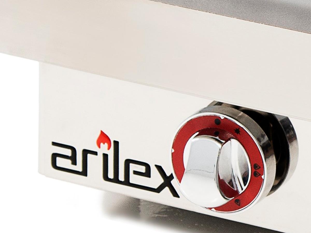PLANCHA A GAS ACERO LAMINADO 6 MM. 60PGL ARILEX