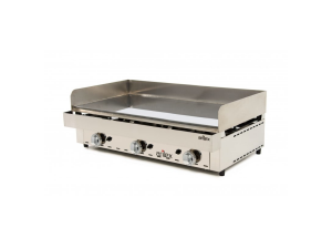 fry top a gas acero 15 mm. con baño cromo duro 100frygc arilex
