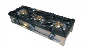 Cocina Industrial A Gas 3 Quemadores F-3G-LB LA BARI