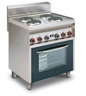 Cocina Eléctrica Con Horno Eléctrico CF4-8ET LOTUS