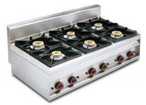 Cocina A Gas PC-12G LOTUS
