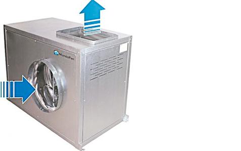 Cajas de Ventilación 400 Grados 2 Horas