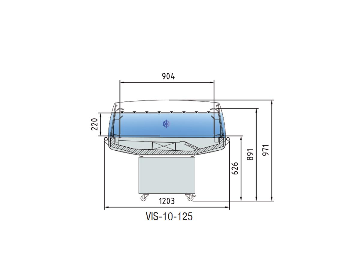 VIS-10-125 MEDIDAS