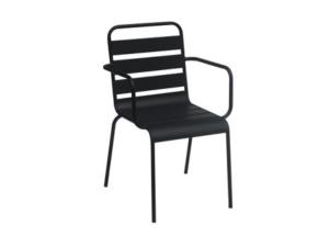 silla con brazos alegría contract resol negro