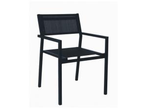 silla con brazos mamba contract resol negro
