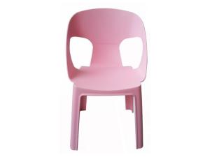 silla con brazos rita barcelona db resol rosa