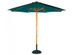 parasol m2 contract resol verde oscuro