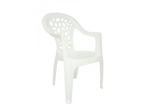 silla con brazos inca contract resol blanco