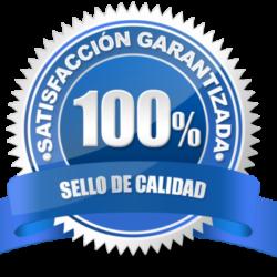 100% satisfacción garantizada