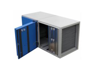 filtro electrestatico semi industrial con extractor fe-2500 climaven