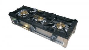 Cocina Industrial A Gas 3 Quemadores F-3G-AR-LB LA BARI