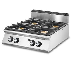 cocina a gas 4 fuegos virtusV
