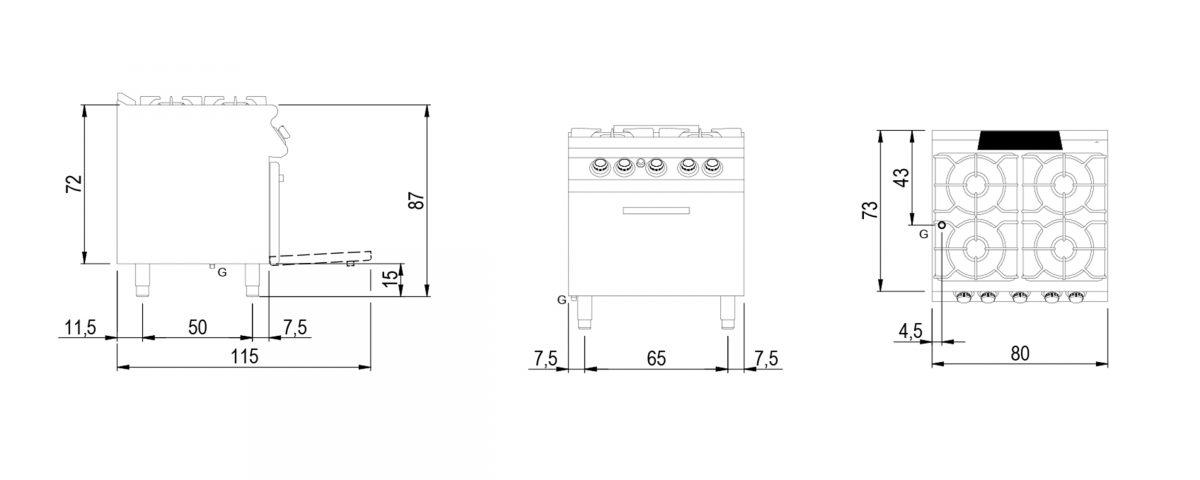 VS7080CFG medidas