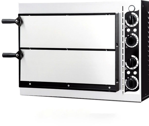 horno de pizza industrial Basic 2/40 +Fred