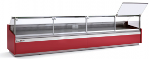 itrina Expositora Refrigerada CQ-VES-10E-10-RC-TF ColdQueen