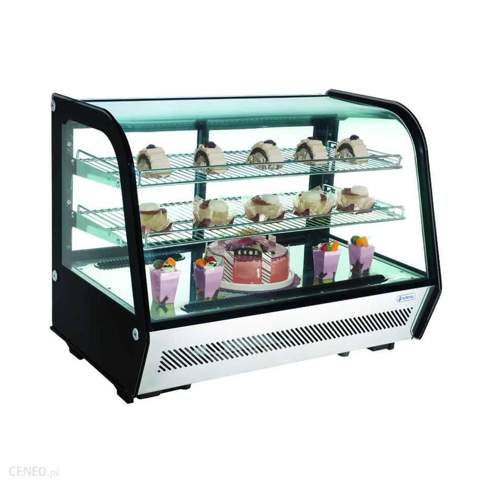 Vitrina Expositora Refrigerada Sobremesa VERS-120 EDENOX